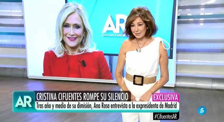 Ana Rosa torna de vacances  Telecinco