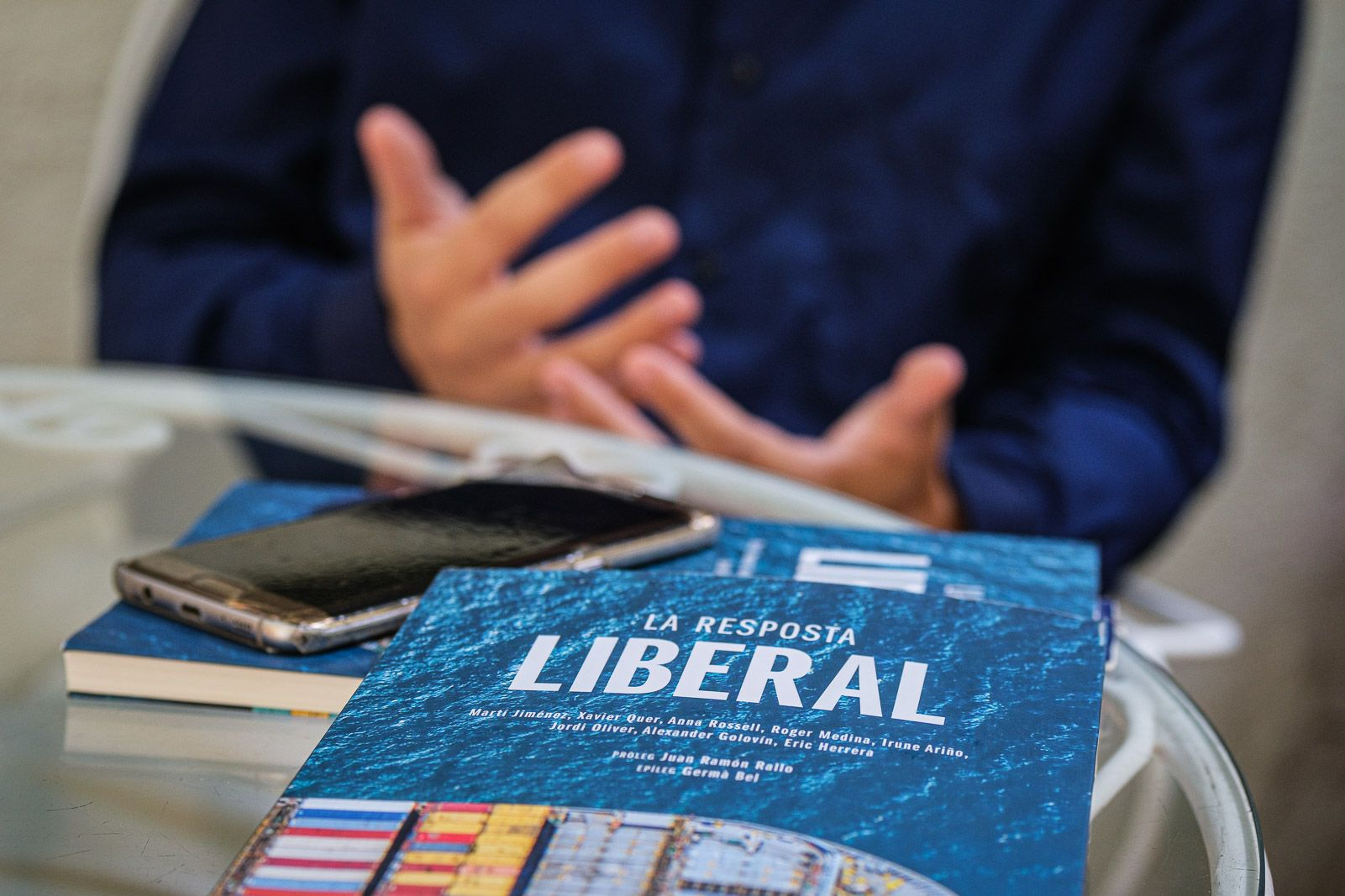 Portada de 'La resposta liberal' (JORDI BORRÀS)