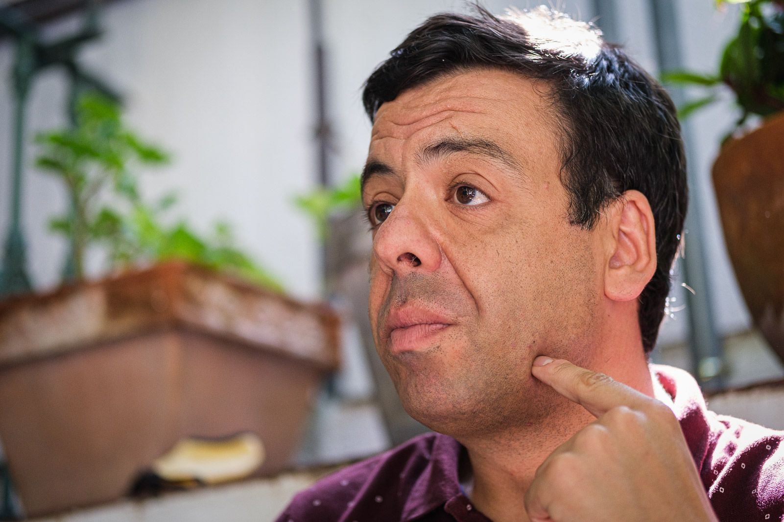 El president de l'Institut Ostrom, Eric Herrera (JORDI BORRÀS)