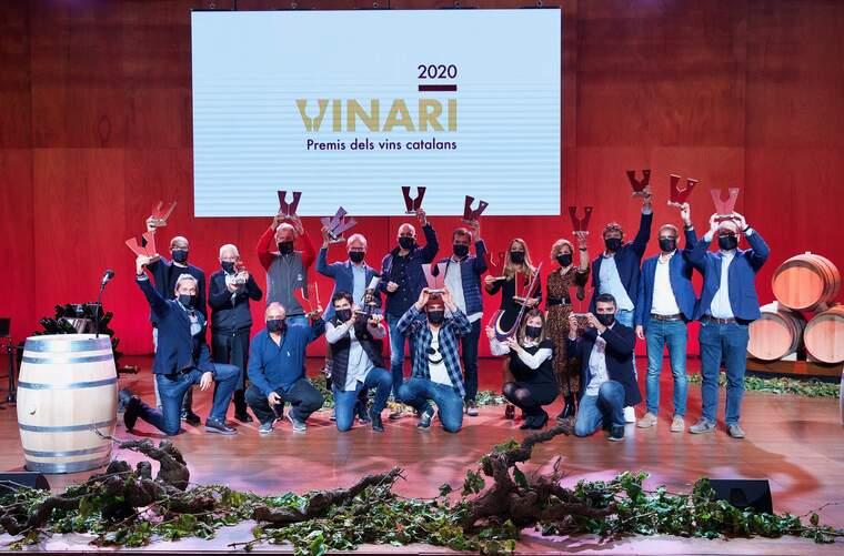 Tots els guanyadors d'un or als Premis Vinari 2020
