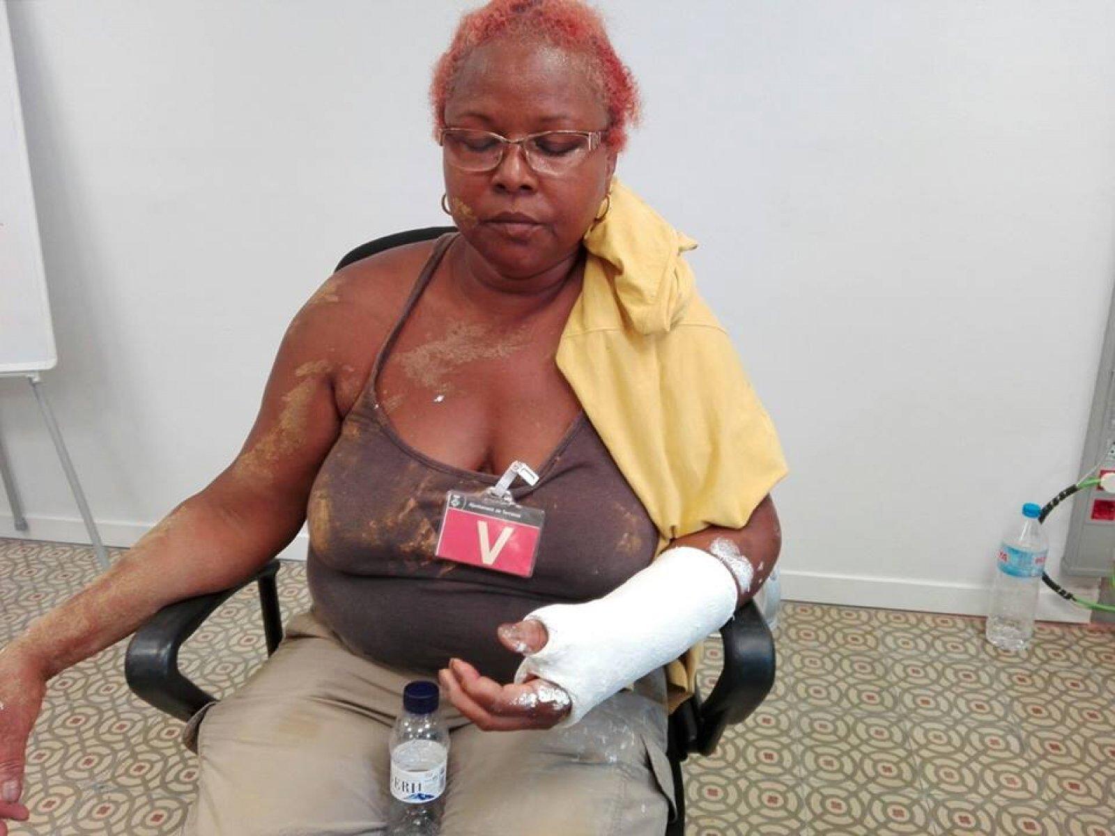 Maria Gervacio Jiménez va patir una agressió racista a Terrassa