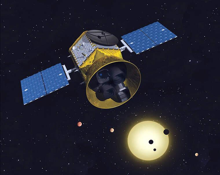 El satèl·lit TESS    NASA